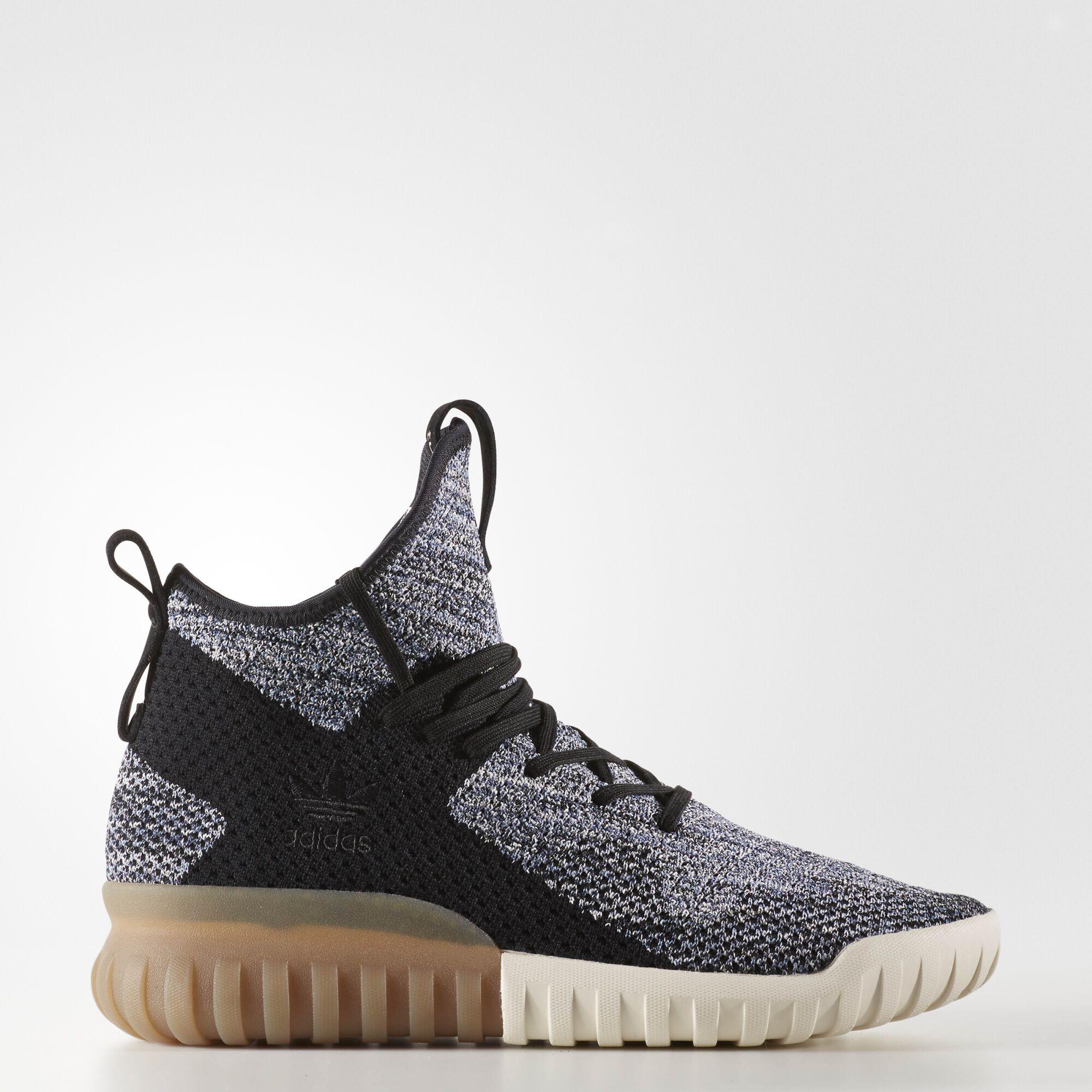 adidas-Tubular-X-Primeknit-Shoes-Men-039-s-Black