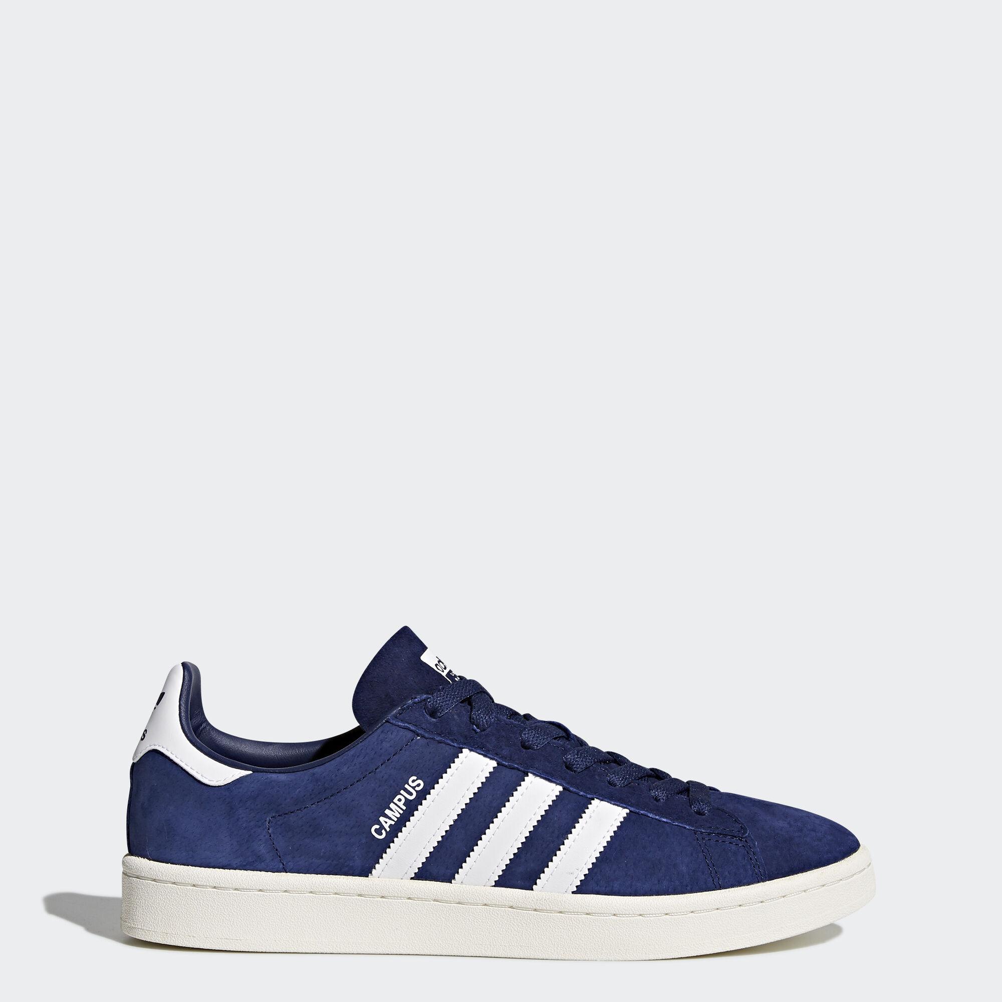 Zapatos azul marino casual Adidas Suede para hombre y3T0KDY